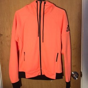 Adidas orange sweater. Never worn
